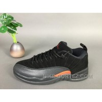 12 Air Jordan 12 Retro Low Max Orange 308317-003 Free Shipping