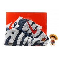 Nike Air More Uptempo OG Olympic Scottie Pippen Midnight Navy White Spirit Red 414962-401 Discount THFcWs
