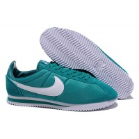 Mens Nike Cortez Leather White Red Blue