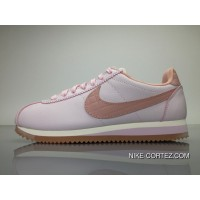Nike Wmns Classic Cortez Leather Lux Pink For Women 861660-600 Top Deals