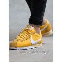 Nike Cortez Womens Yellow Black Friday Deals 2016[XMS1889] Online DwNmH