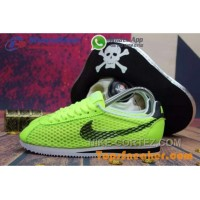 Hot Sell Popular Womens Nike Cortez Mesh Yellow Black Jogging Shoes Fashionable Authentic KTZWnMH