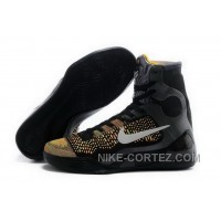 Buy Cheap Nike Kobe 9 High 2015 Black Yellow Mens Shoes Authentic WAiJrWJ