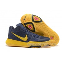 Nike Kyrie 3 Mens BasketBall Shoes Cavs Yellow Cheap To Buy Swja6