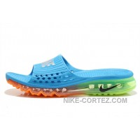 Cheap Nike Air Max 2015 Sandals Blue Orange Green For Sale 2016 Rabatte