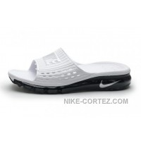 Mens Cheap Nike Air Max Sandals 2015 White And Black 2016 Rabatte