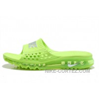 Cheap Nike Air Max 2015 Sandals Volt Green Silver For Sale 2016 Rabatte