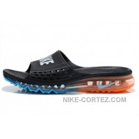 Cheap Nike Air Max 2015 Summer Sandals Black Blue Orange For Sale 2016 Rabatte