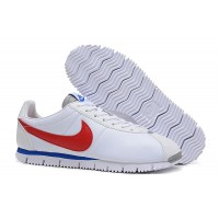 Womens Nike Cortez Leather Black Red White