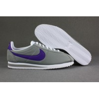 Womens Nike Cortez Leather Black White