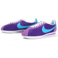 Womens Nike Cortez Suede Purple White Pink